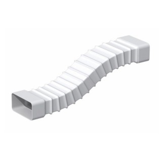 Tube rectangulaire souple - TFR [- conduits PVC de Ventilation - Unelvent]